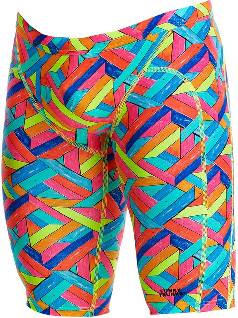 Funky Trunks Training - Bañadores Hombre - Multicolor